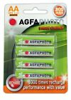 AA SOLAR GARDEN LIGHT AGFA  RECHARGEABLE BATTERIES 1.2v NiMH ( replaces NiCd )