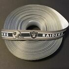 "7/8"" Oakland Raiders Grosgrain Ribbon by the Yard (USA SELLER!) $6.49 USD on eBay"
