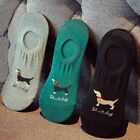 1 Pair Men Dachshund Dog Soft Socks Slippers Animal Summer Invisible Cotton Sock, used for sale  China