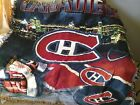 """Hockey Montreal Canadiens canadians 48"""" x 60"""" NHL Throw Blanket tapestry"""