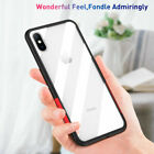 Shockproof Silicone Bumper Clear Slim Case  Cover For i Phone X 7 Plus 8 XS Max