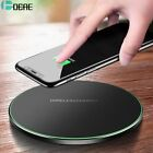 DCAE Qi Wireless Charger For iPhone 8 X XR XS Max QC3.0 10W Fast Wireless