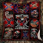 The Side You Never Want To See Redneck Fleece Blanket 50x60x80 Made In US