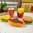3pcs Novelty Food Sandwich Eraser Hamburger Shaped Rubber Kids Stationery Set $1.0  on eBay