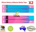 Battery Adhesive Sticker Tape For iPhone 5C 5S 6 6S 7 8 Plus X XS 2PCS