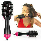 USA 2In1 One Step Hair Dryer and Volumizer Brush Alisado Curling Iron Peine