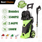 Homdox 3950PSI 3.0GPM Electric Pressure Washer Green Cleaner Spray Kit Hose Reel