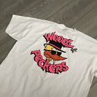 Vintage Band Tshirt Woody & The Peckers FOTL BEST XLARGE SS USA