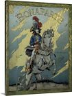Solid-Faced Canvas Print Wall Art entitled Book cover of 'Bonaparte' by G,