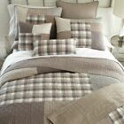 SMOKY SQUARE Quilts & Accessories - Farmhouse Country Bedding - DONNA SHARP image