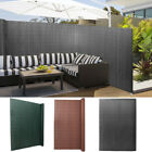 Pvc Garden Privacy Fence Artificial Bamboo Mat Screening Roll Border Wind Panels