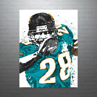 Fred Taylor Jacksonville Jaguars Poster FREE US SHIPPING $14.99 USD on eBay