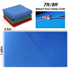 UK Felt Snooker Pool Table Cloth Table Accessories for 7ft 8ft Billiard Table £18.53 GBP on eBay