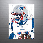 Julian Edelman New England Patriots White Jersey Poster FREE US SHIPPING $30.0 USD on eBay
