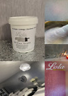 Clear Glitter Paint Glaze For walls Furniture Wallpaper Lots of Colours 1L Tub