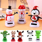 Varied Solar Powered Dancing Swinging Animated Bobble Dancer Toy Car Decor Xmas