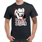 Suicide Squad harley quinn Men T-Shirts t-Shirt Cotton Short Sleeve Tops Tee image