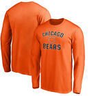 Chicago Bears Victory Arch Long Sleeve Shirt - Orange $20.99 USD on eBay