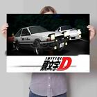 Custom Personalized Art Print Poster Wall Decor Initial D