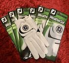 NEW LEFT HAND 2019 FOOTJOY WEATHERSOF GOLF GLOVE SIZE MEDIUM/LARGE **FREEPOST**