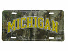 "Michigan State Football Camo Camouflage 6""x12"" Aluminum License Plate Tag"