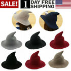 Kyпить Women Witch Hat Halloween Modern Witch Hat Made From High Quality Sheep Wool USA на еВаy.соm