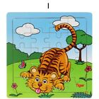 Baby Wooden Puzzle Jigsaw Toddler Early Learning Educational Toy Cartoon Animal