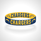 Reversible Los Angeles Chargers Bracelet Wristband Lead The Charge Fight For LA $11.0 USD on eBay