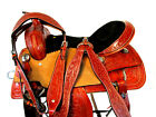 BARREL WESTERN SADDLE 15 16 PLEASURE TRAIL SHOW RACING REINING RACER HORSE TACK