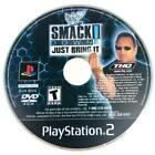 WWF Smackdown Just Bring It Sony Playstation 2 PS2