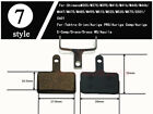 Bicycle Bike Disc Brake Pads FOR ZOOM AVID FORMULA Shimano HAYES TEKTRO MAGURA