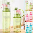 400/600ML Water Bottle With Straw Drink Spray Cup Climbing Hiking Outdoor Sports