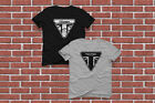 New T-Shirt Triumph Classic Motorcycle Triangle Logo Black & White Size XS - 3XL $14.99 USD on eBay