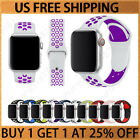 Sport Silicone Wrist iWatch Strap Band For Apple Watch SERIES 1 2 3 4 5 38-44MM image