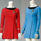 Star Trek Beyond Uhura Cosplay Costume Female Women Uniform Girl Dress Badge on eBay