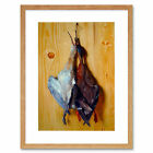 Painting Still Life Oudry Duck Wader Hanging From Nail Framed Print 12x16 Inch
