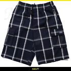 Plaid Cargo Shorts Pants Men Checker Multi Pockets Summer Casual Lightweight Lot <br/> Buy 2 or More = Great Discounted Price
