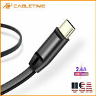 Cabletime 0.25m/1m USB 2.0 Type C Cable Fast Charging Data Cable For OnePlus