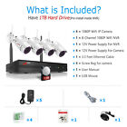 ANRAN 1080P Wireless Security Camera System Outdoor with 1TB Hard Drive 2MP NVR