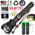 990000Lumens Zoom SWAT Flashlight XHP70 LED USB Rechargeable Torch Super Bright