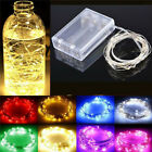20/30/100 LED Battery Copper Wire String Fairy Light Creative Colorful Xmas Lamp