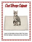 "Cool Breeze Litter box Catpads 16.9"" x 11.4"" Infused w/Baking Soda  Polymer Gel"