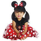 Minnie Mouse Costume Deluxe Red Dress Infant Toddler Girls
