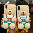3D New Pooh Bear Silicone Soft Phone Case Cover For iPhone 11 Pro Max XR 8 Plus