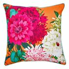 NEW Bella Rosa tangerine cushion by LUXOTIC