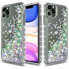 For Apple iPhone 11 Pro Max Case Glitter Bling Quicksan Sparkle Hybrid Cover