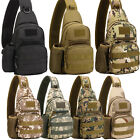Mens Tactical Military Messenger Shoulder Bag Sport Crossbody Hiking Chest Bags