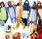 Unisex Adult  Kigurumi Animal Cosplay Costume Pajamas Onesie17 Sleepwear Outfit*