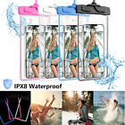 Underwater Waterproof Bag Universal Sport Night Light Pouch Dry Phone Case Cover