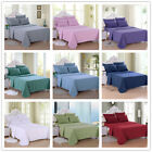 Egyptian Comfort 2200 Count 4/6 Piece Deep Pocket Bed Sheet Set Queen King Size
